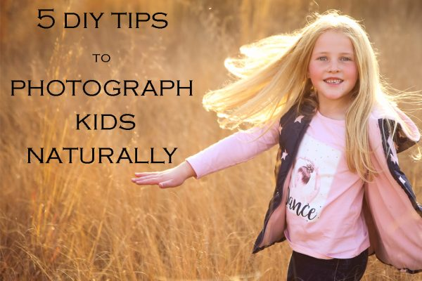 photographing your kids